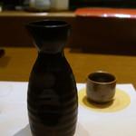 """茜どき - 日本酒""""月山""""の小徳利"""