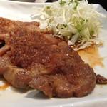 ニジール - トンテキ生姜焼き