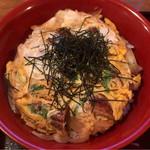 うなぎ 落合 - うな玉丼(ごはん大盛) ¥950