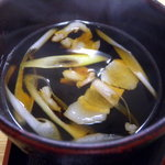 肉汁うどん青柳 - 肉汁_2011-03-07