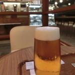 カフェ・ラ・コルテ - ドライプレミアム生ビール430円