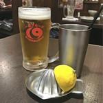 居酒屋 一休 - モルツ / スーパーレモンハイボール