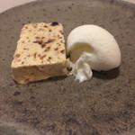 アレグロ コン ブリオ - デザートのセミフレッド ミルクジェラート