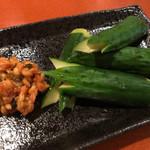 小料理 哲  - モロきゅう