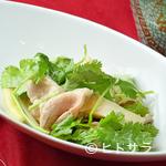 ヌーベルシノワ Ishibashi - 大人気の「パクチー」をふんだんに使った香り豊かな『豚肉とパクチーの黒酢炒め』