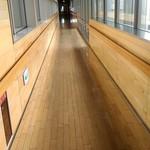 上川総合振興局 食堂 - 長い廊下の先に食堂です。