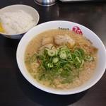 ますたにラーメン - らーめん並 780円(サービスライス並)
