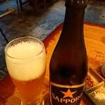 焼肉酒場 大貫商店 - 瓶ビール。