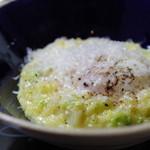 レストラン リュウ -  大台町の卵を使用したリゾット