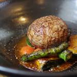 レストラン リュウ - 松阪牛の夏野菜deココット焼き