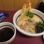 かもめ - 料理写真:海老天ぶっかけ