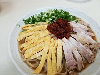中華そば ふくもり - 辛煮干冷やし中華