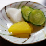 元祖本吉屋 - 香の物