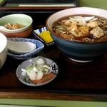 利久庵 - そば定食430円。