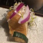 AWOMB西木屋町 - 厚揚げ豆腐、紫玉ねぎ