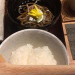 AWOMB西木屋町 - すし飯と冷たいお蕎麦