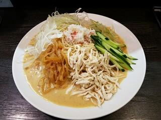 支那そば屋 こうや - 上海涼麺です