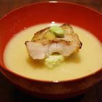 キ星 - 料理写真:ノドグロと枝豆豆腐の椀