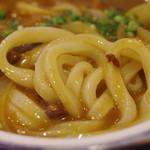 手打ちうどん 鶴丸 - 麺