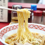 万味 - 柔らかめの麺