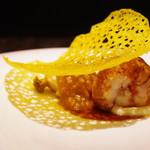 ゆきむら - 料理写真: オマール海老の低温グリルとアワビ