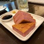 食べ呑み処 ねま屋 - *厚切りハムカツ(¥380)