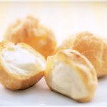 北菓楼 - シュークリーム「ミルクシュー」 小さめサイズ。 カスタードクリーム