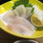 矢羽寿司 - 料理写真:あいなめ刺身