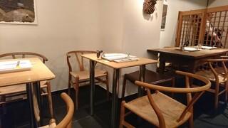 六覺燈 - テーブル席も御座います