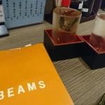 おか長 - 誕プレと日本酒(*^^*)