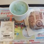 マクドナルド - ドリンク写真:ハンバーガー100円&ファンタメロンS100円(謝罪イベントで無料)(2017.6.26)