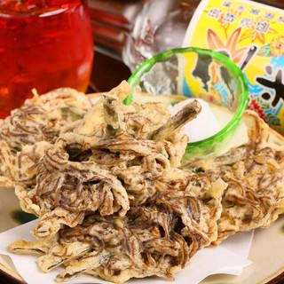 本格沖縄料理を提供