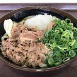 まごころ - 肉ぶっかけうどん冷小420円(税込)