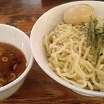七代目  玉五郎 - 【煮干しつけ麺(中) + 味付け玉子】¥880 + ¥100