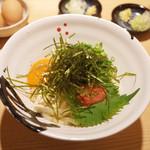 讃岐うどん あ季 - 釜たまバターうどん+めんたいこ・幻の特選バター(750円・外税)