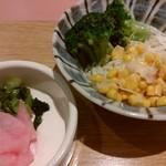 tonkatsuke-waike- - サラダはバイキング式