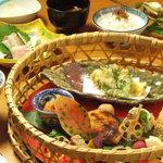 神楽坂 和食 千 - お昼「潤」3,200円