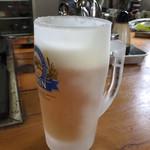 お好み焼マリコ - ノンアルコールビール
