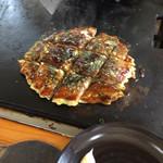 お好み焼マリコ - 豚たま650円    マヨネーズ無料