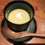 70722584 - 冷製のコーンスープ