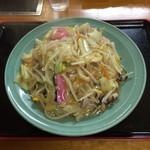 ゆたか - 料理写真:太麺皿うどんです。