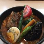 70724740 - 角煮スープカレー 夏野菜ver
