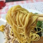 びいどろ - 限定メニュー…日替り冷し680円の麺