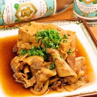 じっくり煮込んだ肉豆腐