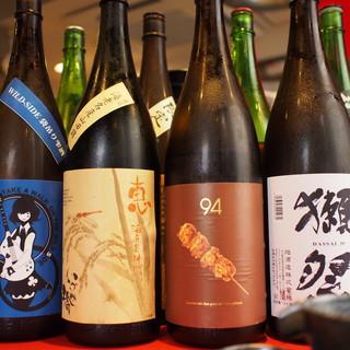 日本酒から生ビール・サワー・ワインと全50種類以上!!