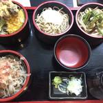 そば処 福そば - 葉山そば…色んな味で楽しめる蕎麦で、お腹にも丁度よいですね。メチャクチャ美味いです!