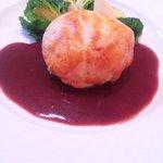 シェ・アキラ - 肉 ジビエのパイ包み焼き赤ワインソース