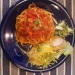 花庵 - トマトソースのパスタ