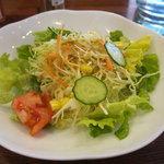 じゅうやくしつ - サラダ