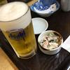 天ぷら八起 - 料理写真:とりあえずの生